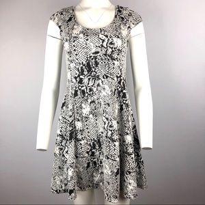 Marilyn Monroe black white Mini Dress S